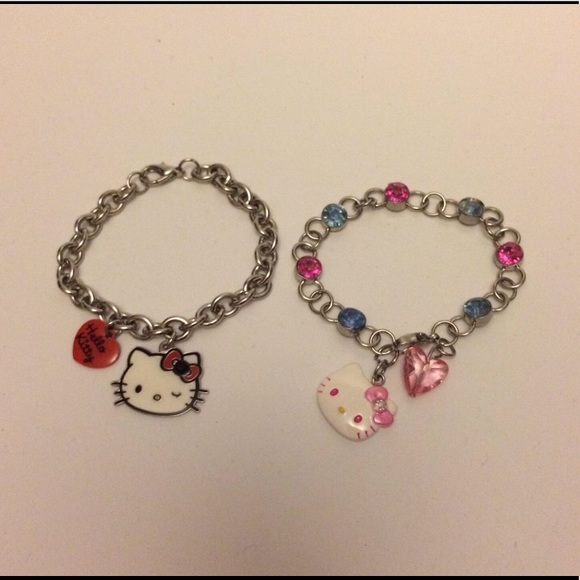 🌸 2/$10 EUC Sanrio Hello Kitty Bracelets